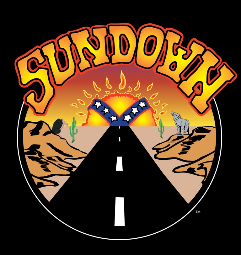 The SUNDOWN Band logo is a registered Trademark